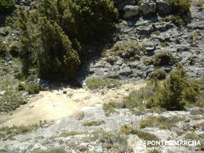 Barranco de Borbocid - trekking and hiking; equipamiento senderismo